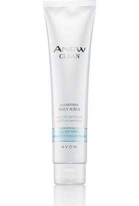 Avon Anew Clean Age-Refining Tüm Cilt Tipleri için Arındırıcı Scrub -100ml