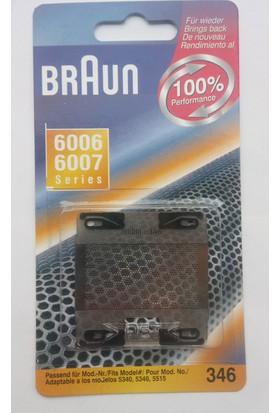 Braun 346 6006-6007 Traş Makinası Eleği