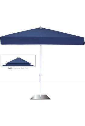 Gold Plaj Şemsiyesi 300x300 cm Kare İpli Sistem