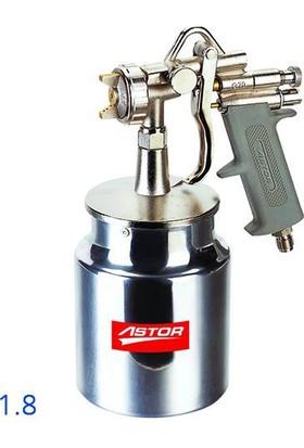 Astor G70 Alttan Depo Boya Tabancası 1.8