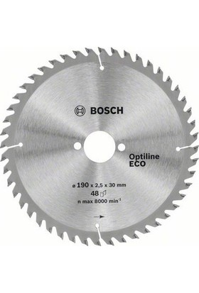 Bosch Optiline Eco 190 x 30 Mm 48 Diş 2608641790
