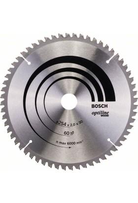 Bosch Optiline Wood 254 x 30 Mm 60 Diş 2608640436