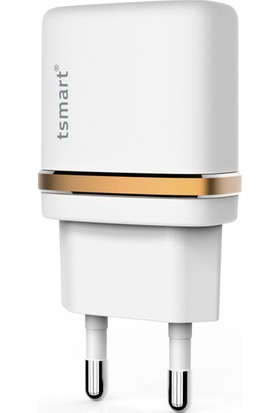 Tsmart Apple iPhone Şarj Kablolu Tsmart Mini Seyahat Şarjı