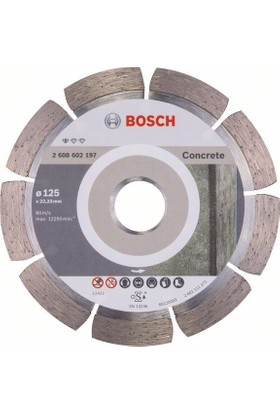 Bosch Standard For Concrete 125 Mm 2608602197