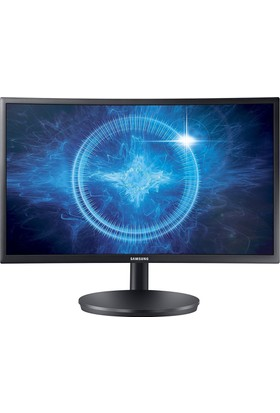 "Samsung LC24FG70FQMXUF 23.5"" 1ms (2xHDMI+Display) Full HD Curved VA IPS Monitör"