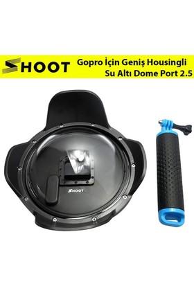 Shoot Gopro İçin Geniş Housingli Su Altı Dome Port 2.5