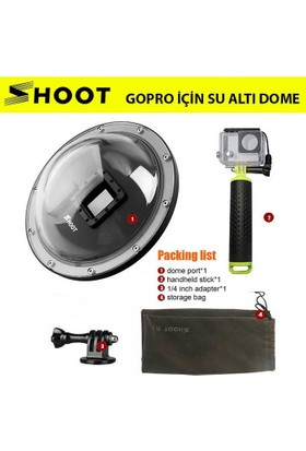 Shoot Gopro İçin Su Altı Dome Port