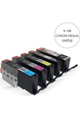 Canon 1 Takım Pgı 550/ Clı 551 5 Renk Kartuş