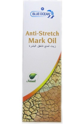 Blue Ocean Anti Stretch Mark Oil 125ml