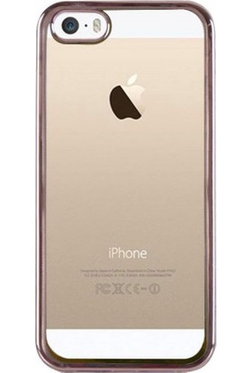 Kılıfkutusu Apple iPhone 5s Lazer Kenarlı Silikon Kılıf