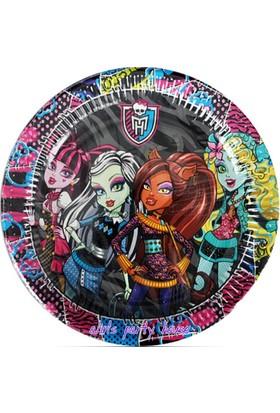 Alins Monster High Parti Tabağı 23 Cm 8 Adet