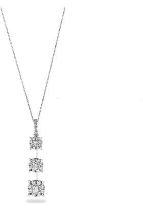 OJA Diamond Pırlanta Coronet Tria Kolye