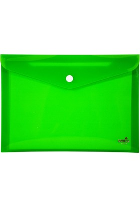 Umix Çıtçıtlı Zarf Dosya A6 Neon Yeşil