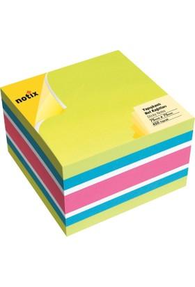 Notix Neon 4 Renk Küp 450 Yp 75x75