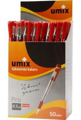 Umix Pro 0.7 Mm 50'li Kutu - Kırmızı