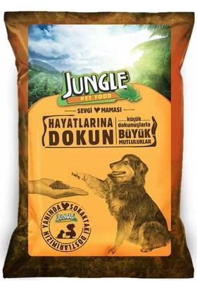 Jungle Sokak Köpekleri İçin Sevgi Maması 125 gr 20 li