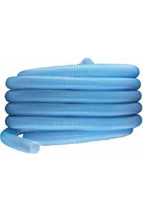 """Spp Evapol (Mavi Beyaz) Havuz Süpürge Hortumu 11/2""""-15 M."""