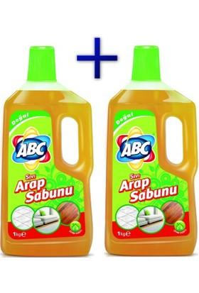 Abc Sıvı Arap Sabunu Natürel 1Lt + 1Lt.