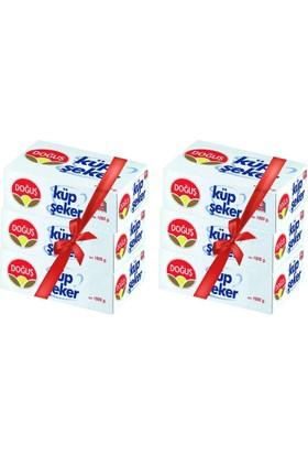Doğuş Küp Şeker 1000Gr. 405 Adet 6Lı Paket