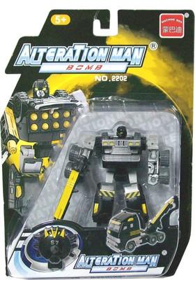 CC Oyuncak Dönüşebilen Robot - Sarı