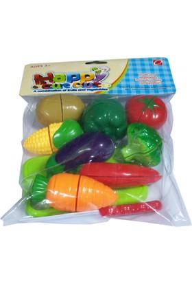 CC Oyuncak Sebze - Meyve Kesme Oyun Seti