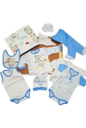 Karyel 10 Parça Organik Bebek Hastane Çıkışı Yeni Doğan Zıbın Seti Ndm10-8899-M