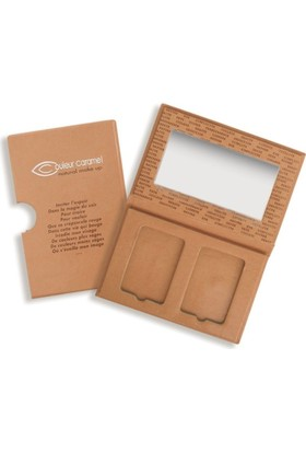 Couleur Caramel Empty 2 Compact Powder Box 1 Adet