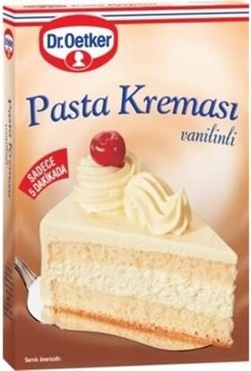 Dr Oetker Vanilyalı Pasta Kreması