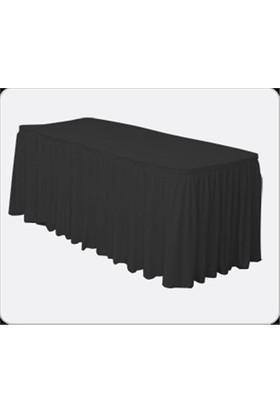 Sweetsorcery Siyah Masa Örtüsü Eteği
