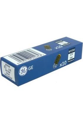 General Electric WY5W Sarı 12V 5W Ampul 10'Lu Paket