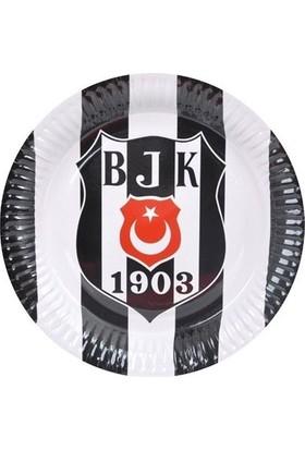 Sweetsorcery Beşiktaş Temalı Tabak (8 Adet)