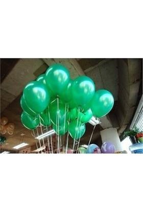 Sweetsorcery Yeşil Metalik Balon 8'Li