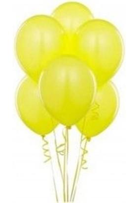 Sweetsorcery Sarı Metalik Balon 8'Li