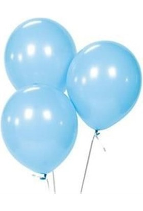 Sweetsorcery Mavi Metalik Balon 8'Li