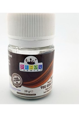 Decol Toz Koyu Kahverengi Gıda Boyası 10 G
