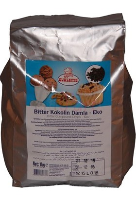 Sweetsorcery Ovalette Bitter Kokolin Damla Çikolata 1Kg