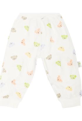 Minou Organik Pantolon/Pijama Mavi Ayılı