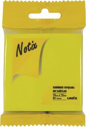 Notix Neon Sarı 80 Yp 75x75 Asmalı