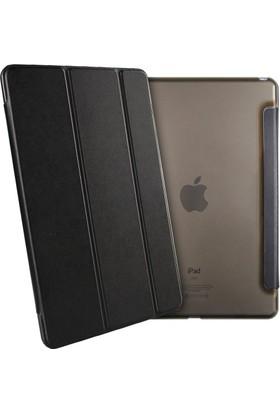 Deni iPad 2/3/4 (2.3.4. Nesil) Smart Case Tablet Kılıf + 9H Kırılmaz Cam + Kalem + Aux Kablo