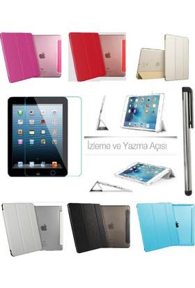 Deni iPad Pro 12.9 Smart Case Tablet Kılıf + 9H Kırılmaz Cam + Kalem
