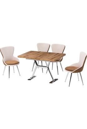 Azzore Masa Sandalye Takımı - Yeni Ürün