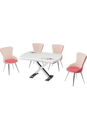 Azzore Mutfak Masa Sandalye Takımı En 932 Masa