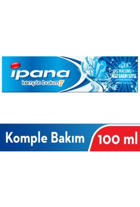 İpana Komple Bakım Diş Macunu + Ağız Bakım Suyu Uzun Süreli Ferahlık Hafif Nane 100 ml