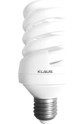 Klaus Tasarruflu Lamba 20W, 6400K, E27 Klaus