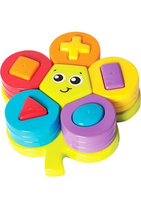 Playgro Şekil Öğretici Çiçek Puzzle 7733