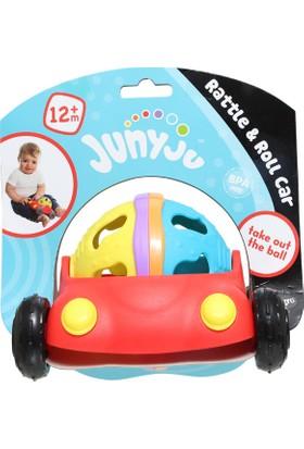 Playgro Salla Yuvarla Çıngıraklı Araba 7723