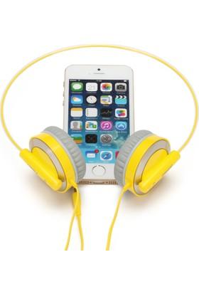 Pisen HD101 Hifi Ses Ayarlamalı Kablolu Kulaklık Hafif İnce Zarif Şık Tasarım