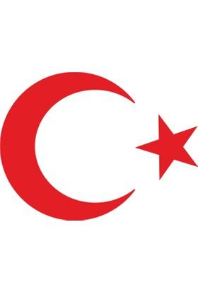 Stickermarket Türk Bayrağı Kırmızı