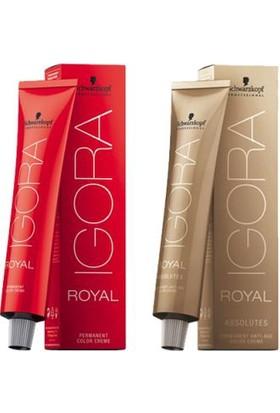 Schwarzkopf Igora Royal Saç Boyası 5-57 Açık kahve Altın bakır 60ml