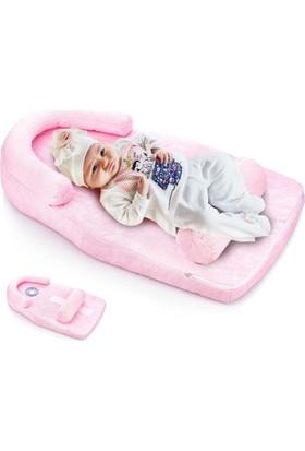 Baby Jem Reflü ve Düz Kafa Yastığı - Pembe